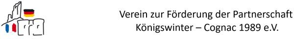 Verein zur Förderung der Partnerschaft Königswinter – Cognac 1989 e.V.
